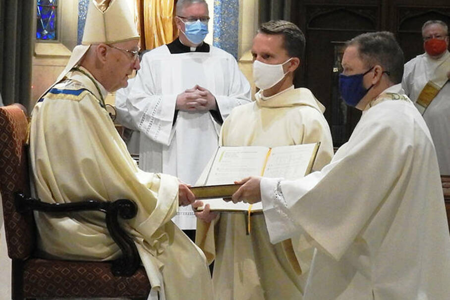 Ordination of Transitional Deacons