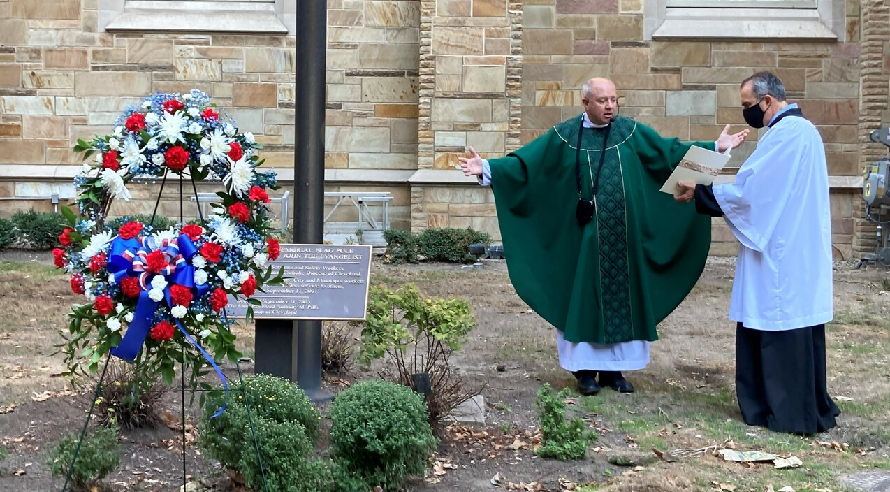 Annual wreath ceremony recalls courage, heroism of 9/11 first responders