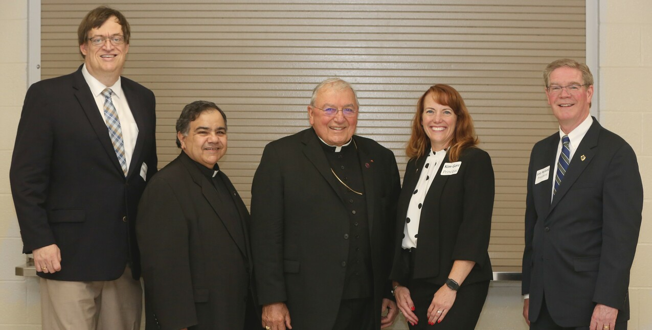 St. Vincent-St. Mary High School installs Leo Hyland as new president