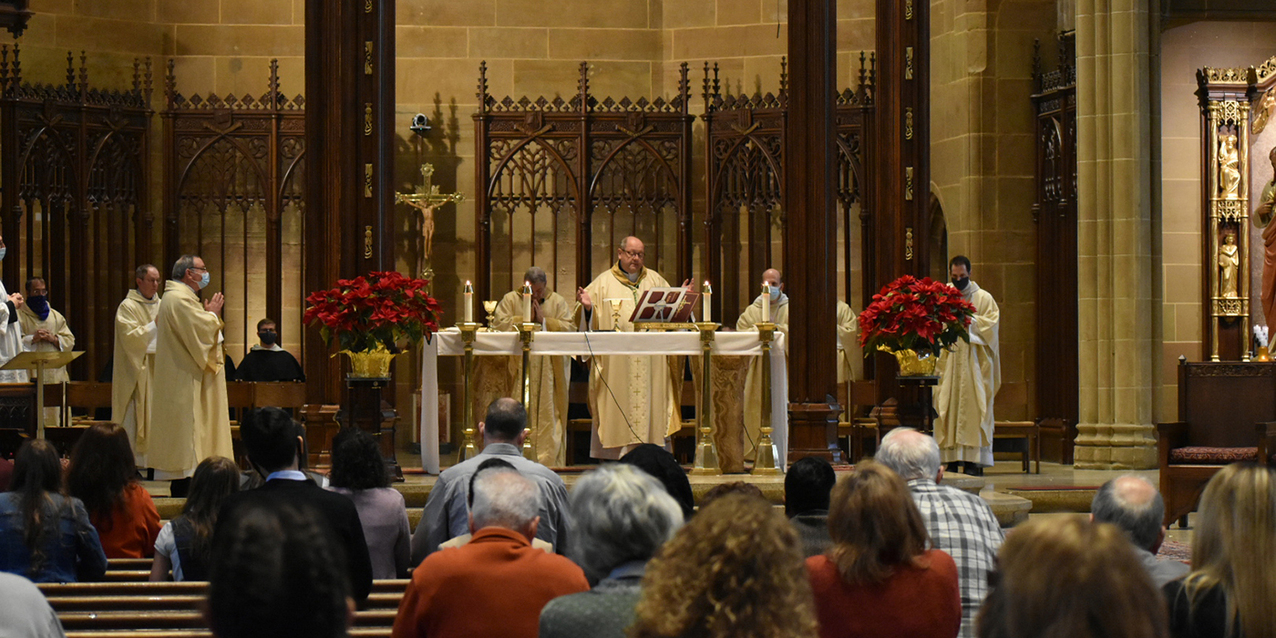 Bishop Malesic celebrates Mass, addresses Roe Remembrance rally in Columbus