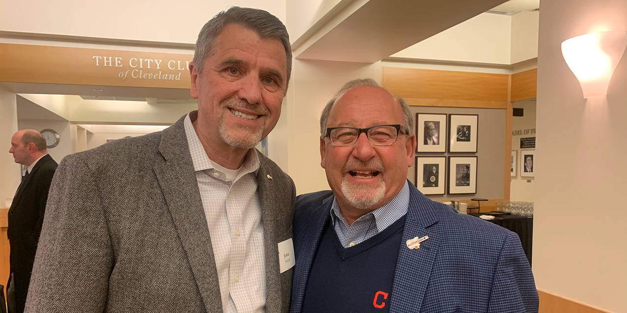 Talking Tribe with Bob DiBiasio at the First Friday Club of Cleveland
