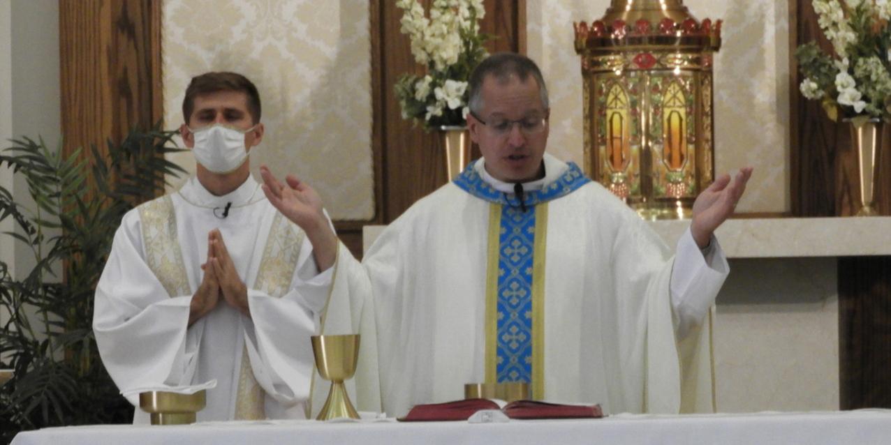 St. Luke Parish dedicates memorial garden for those who died during pandemic