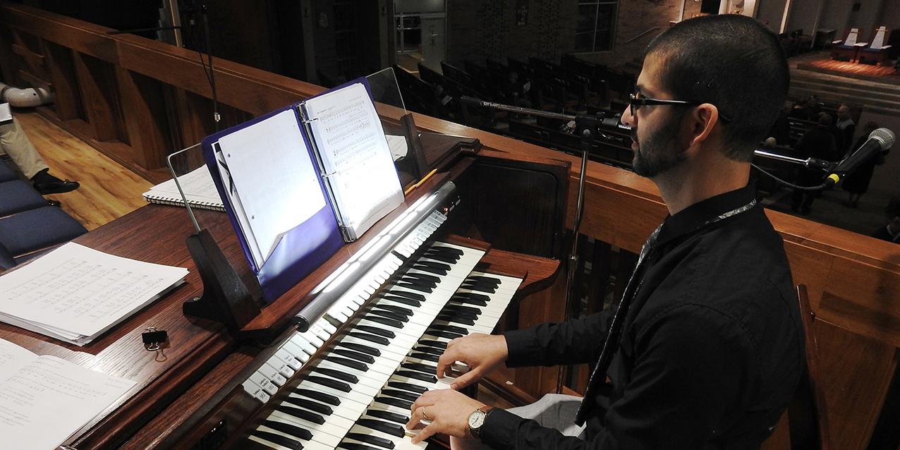 New organ makes beautiful music during blessing at St. Joseph Parish