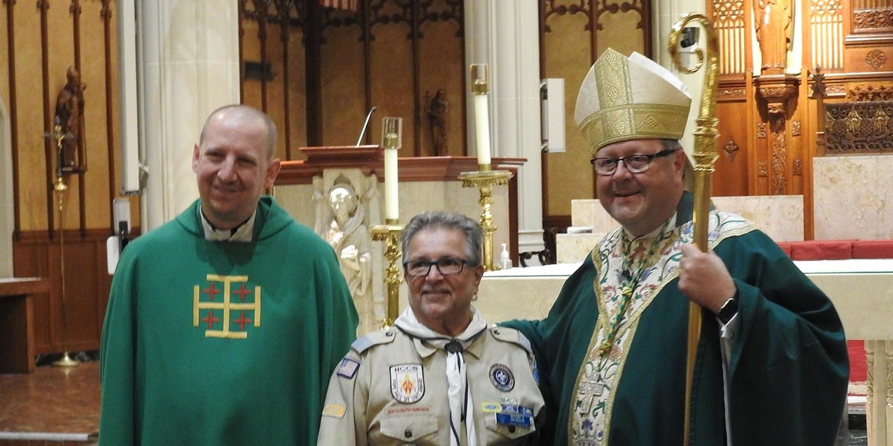 Diocesan Court of Honor Mass celebrated at cathedral
