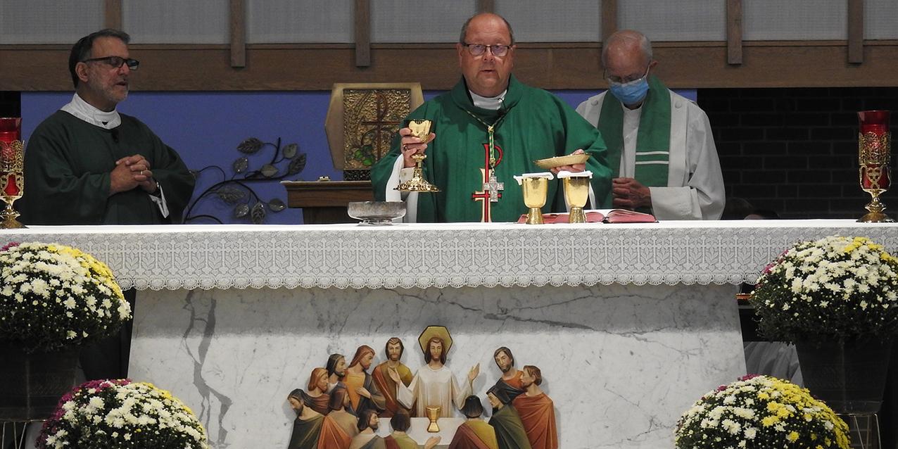 St. Eugene Parish celebrates repairs, restoration of church