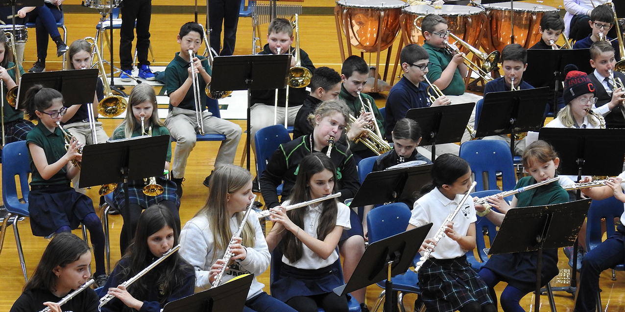 Lorain County Catholic school students gather to make beautiful music