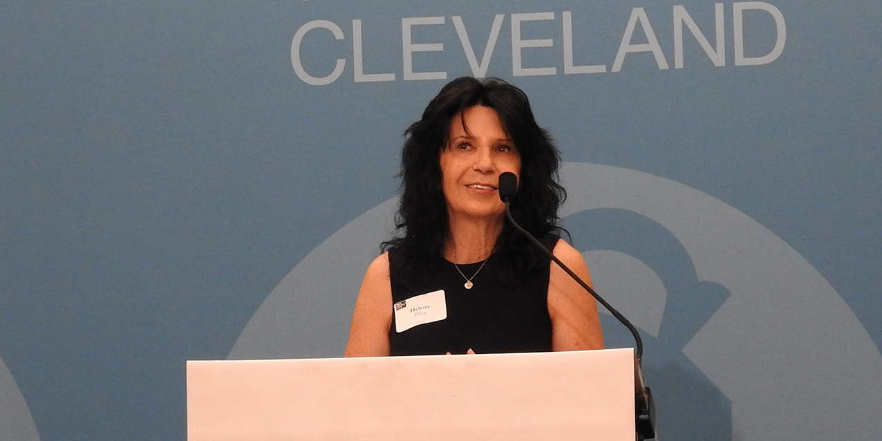 First Friday Club of Cleveland hears about the tragedy and hope of human trafficking