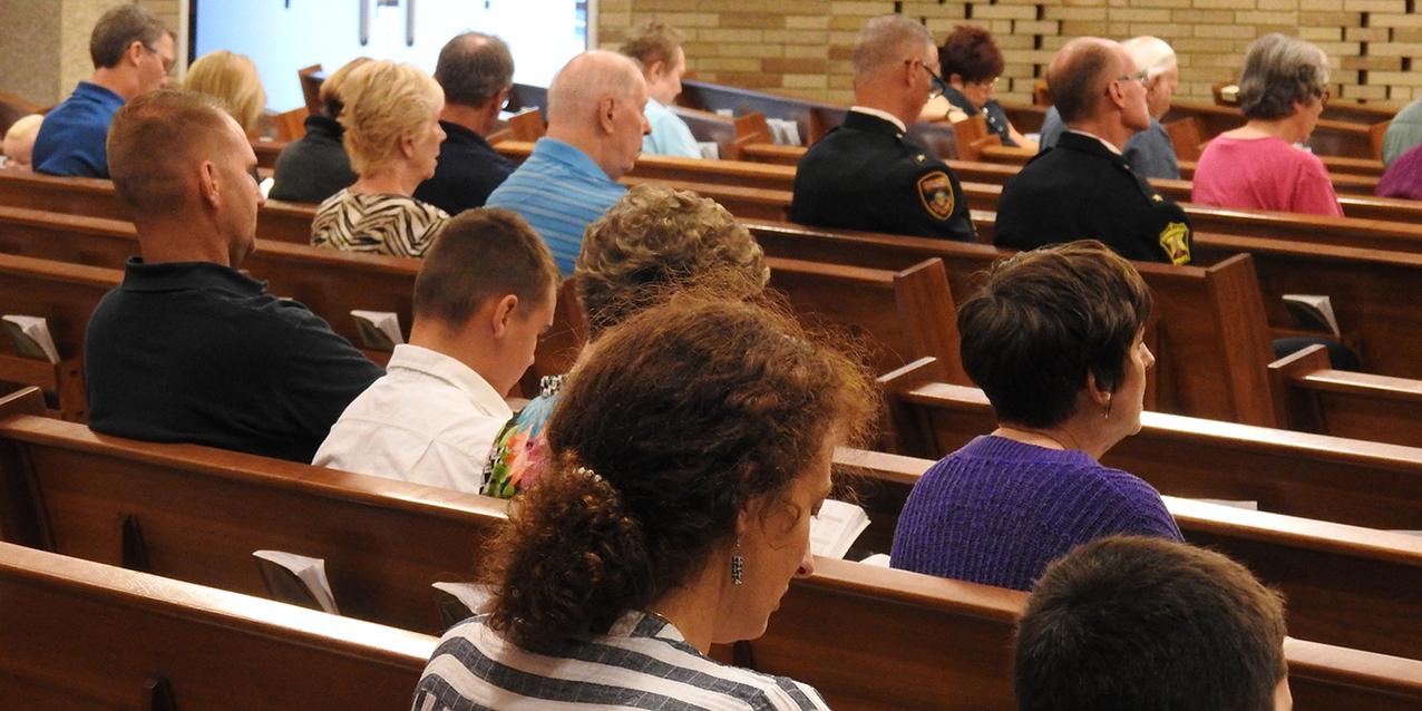 St. Joseph Parish, Strongsville thanks first responders at prayer service