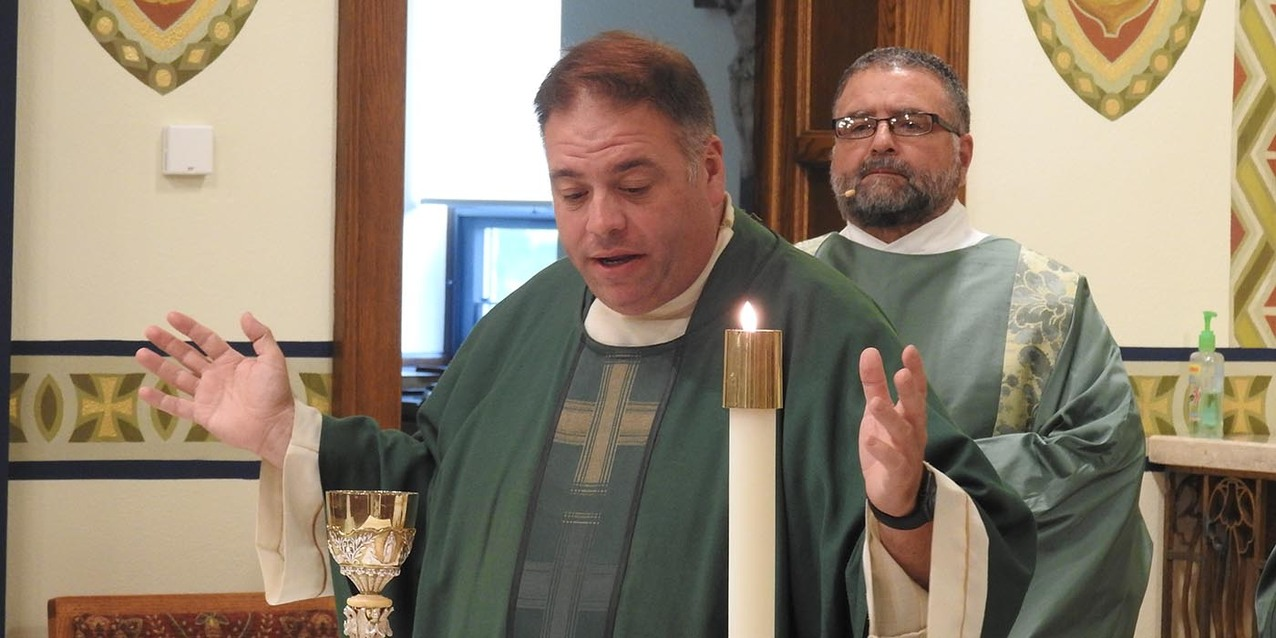 Bishop's visit highlights St. Peter, Loudonville's 150th  anniversary celebration