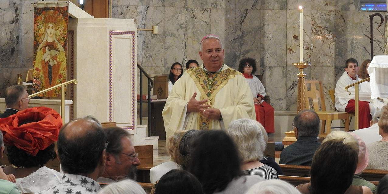 Our Lady of Peace Parish continues its centennial celebration with Mass, fellowship