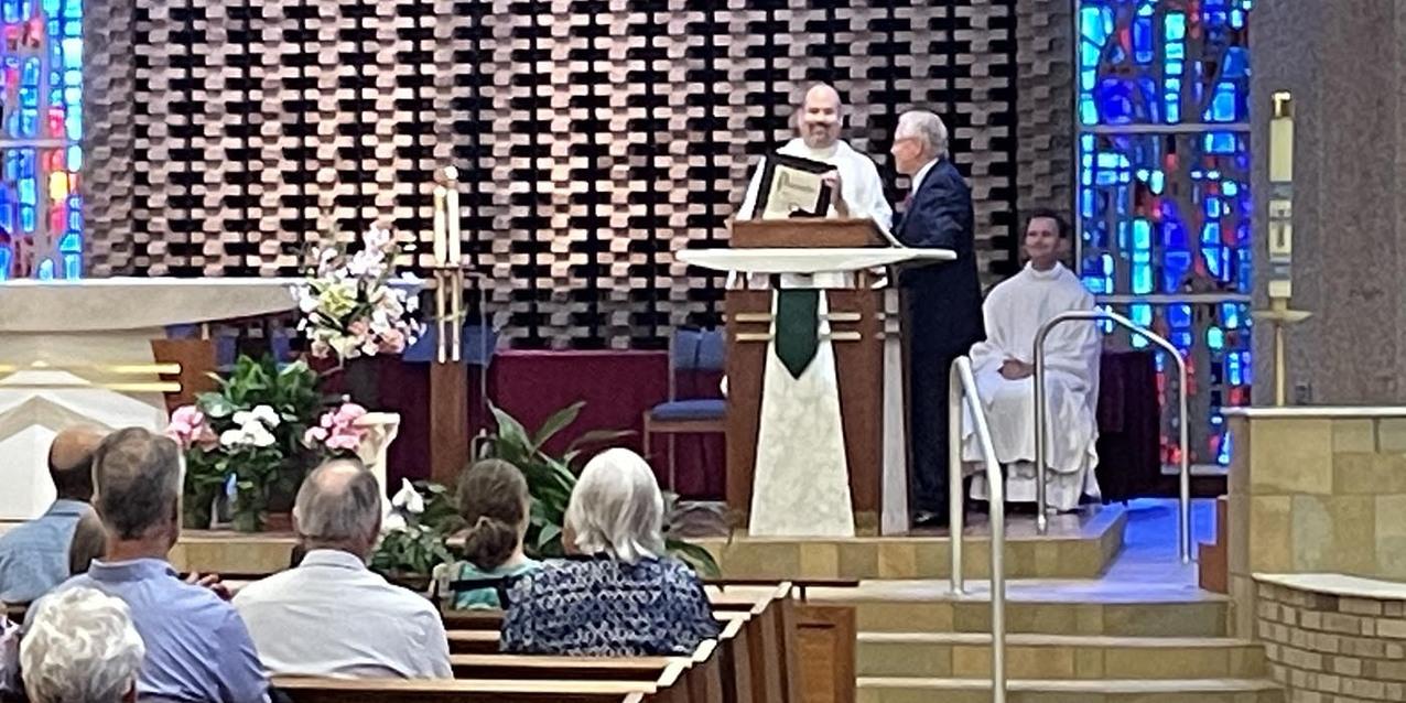 St. Joseph Parish begins 75th  anniversary celebration on Corpus Christi