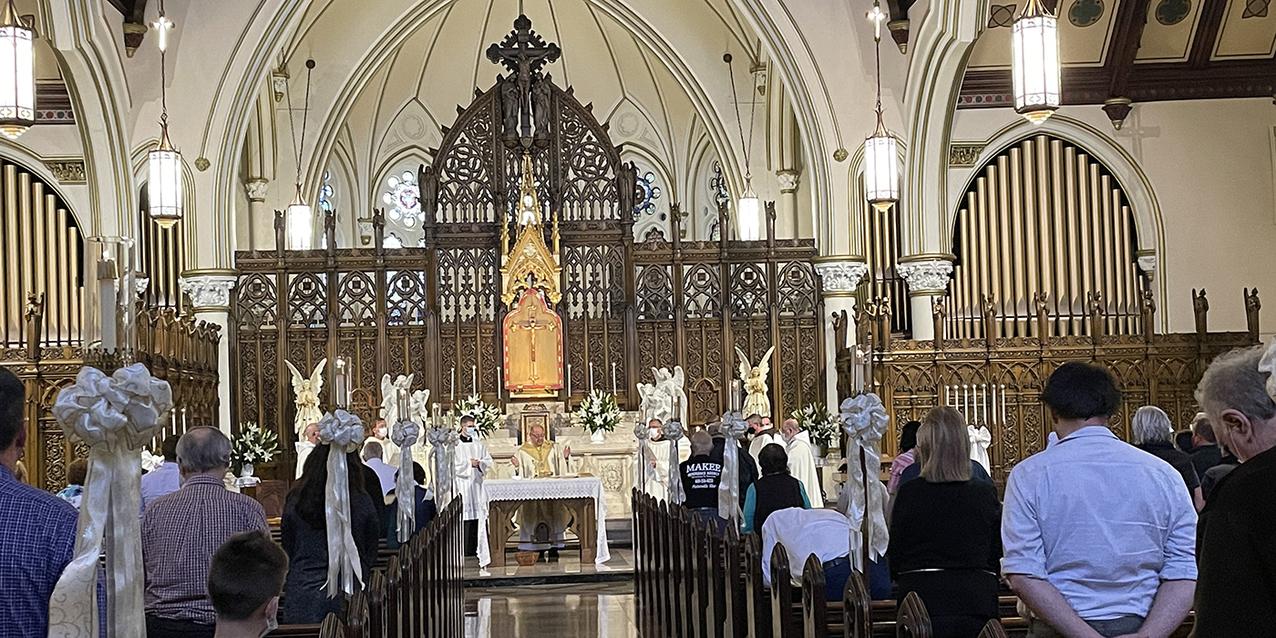 Conversion of St. Paul Shrine celebrates 90th  anniversary of its dedication
