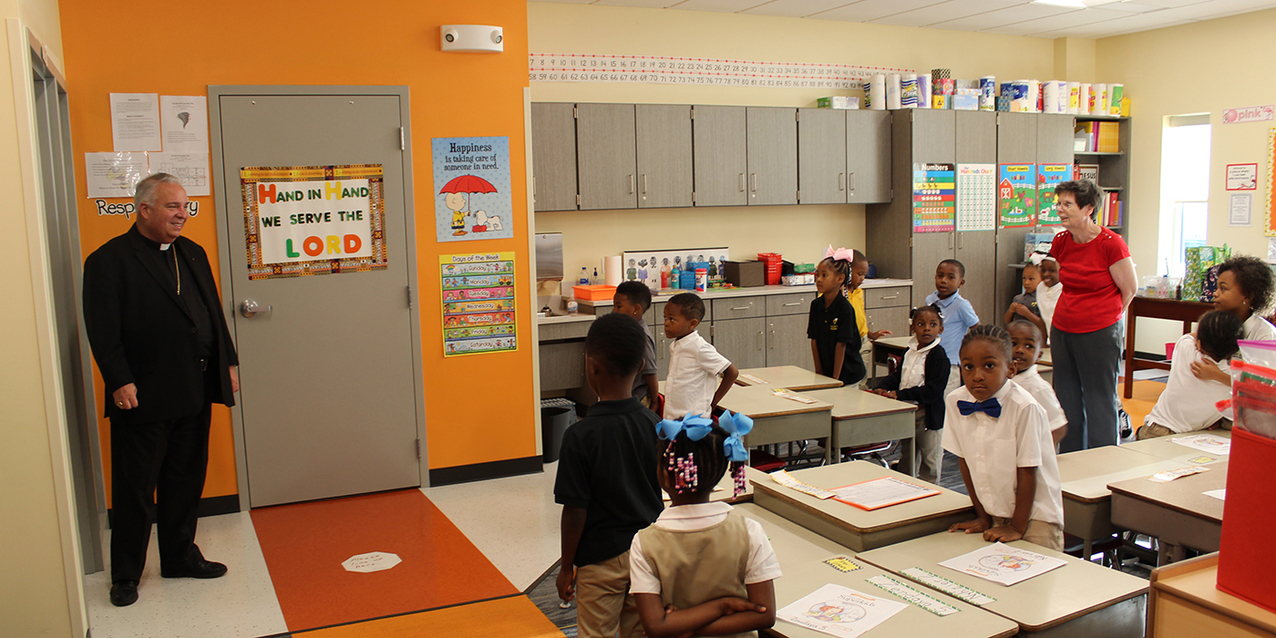 New Cletus Jeckering Early Childhood Learning Center opens at St. Adalbert School in Cleveland