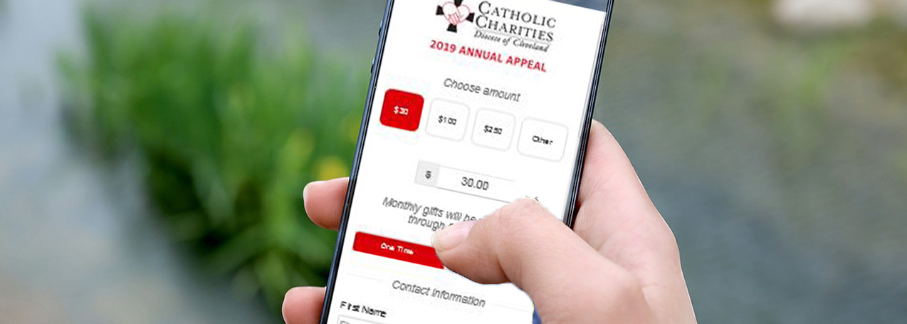 Text-to-donate, click-to-tithe platforms increase online giving for Catholic Community Foundation