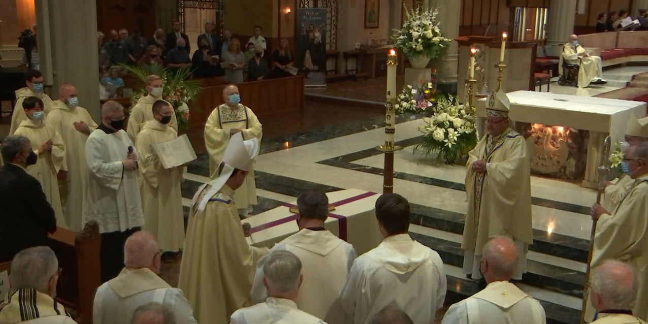 Bishop Pilla remembered for his kindness, love as he is laid to rest