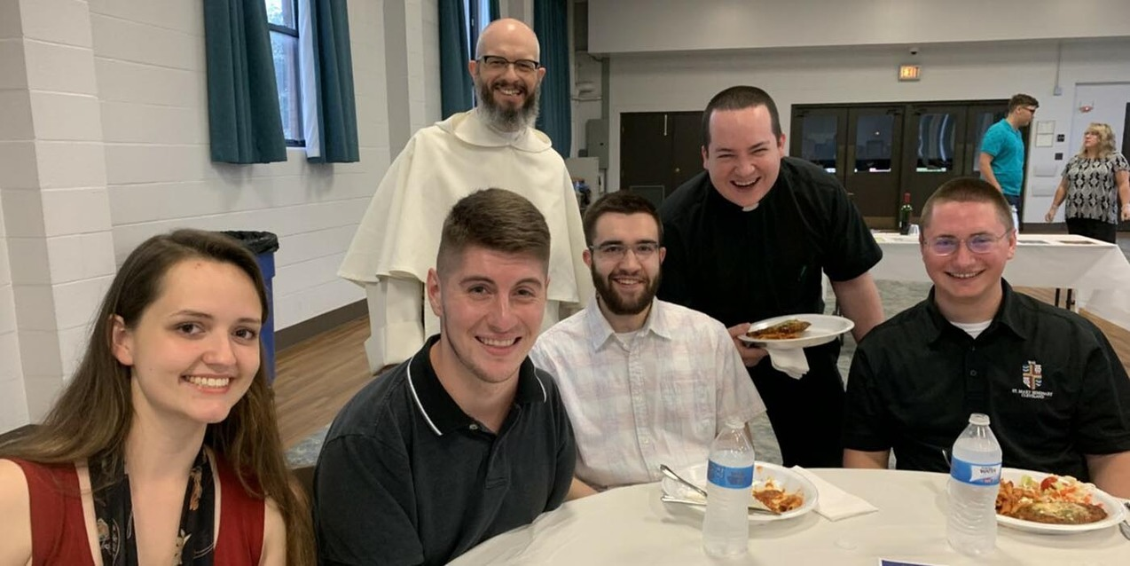 Parma Young Adult Pod hosts kickoff event with Bishop Malesic at St. Charles Borromeo