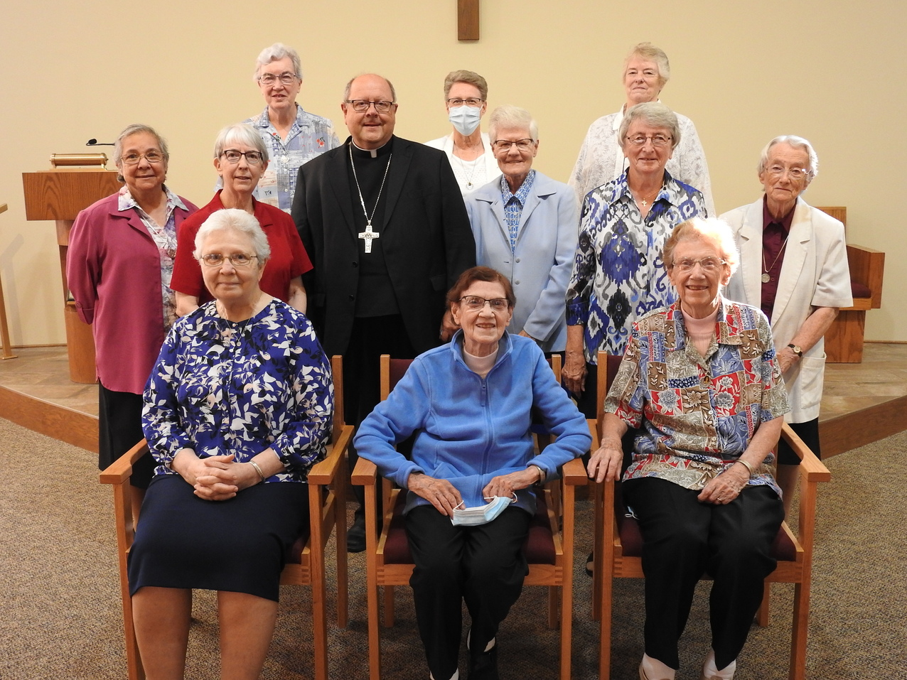 Sisters of the Incarnate Word and Blessed Sacrament host Bishop Malesic