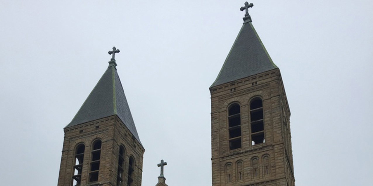 The bells are chiming once again as renovations continue at St. Bernard Church